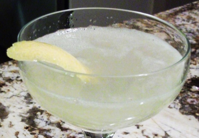 French 75. It's got a kick that gets the party (in your mouth) going.