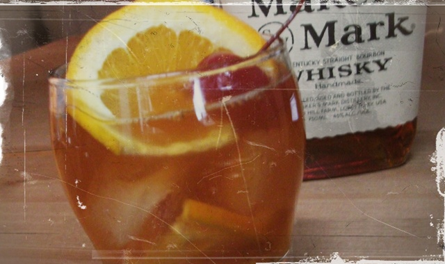 Old Fashioned, tastes way better than the name.
