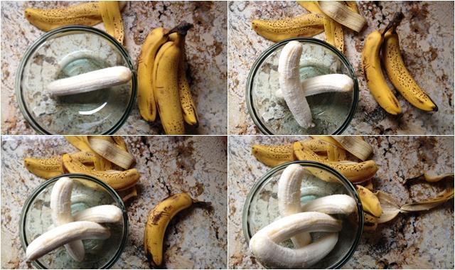One banana, two banana, three banana, four.