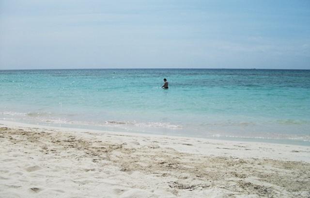 Long Beach in Negril, Jamaica