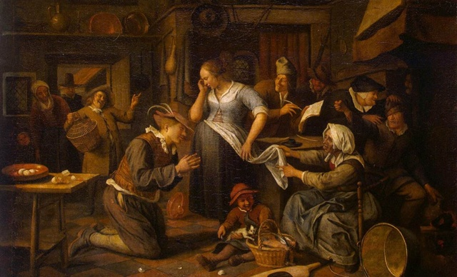Marriage Contract by Jan Steen