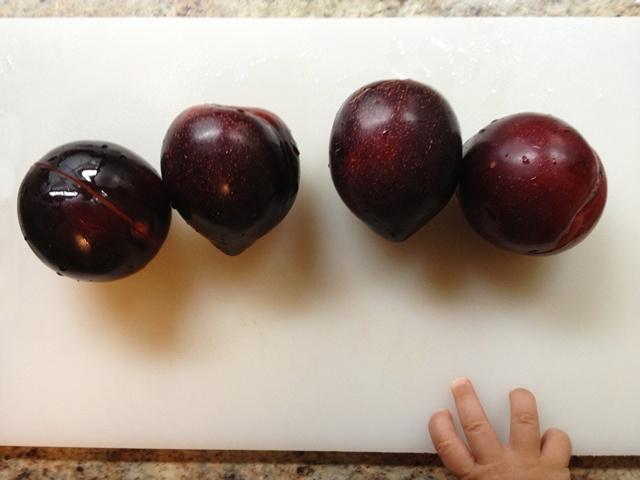 Summer plums